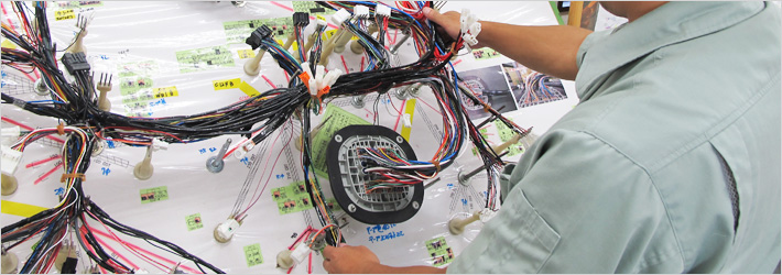 main wire harness 株式会社リーデン proses pembuatan wiring harness at n-0.co