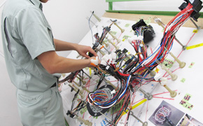 harness5 wire harness 株式会社リーデン proses pembuatan wiring harness at n-0.co